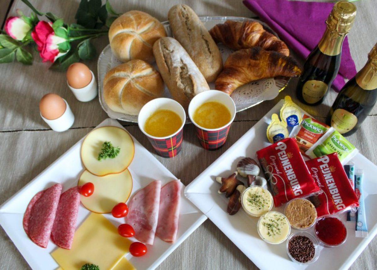 Romantisch ontbijt